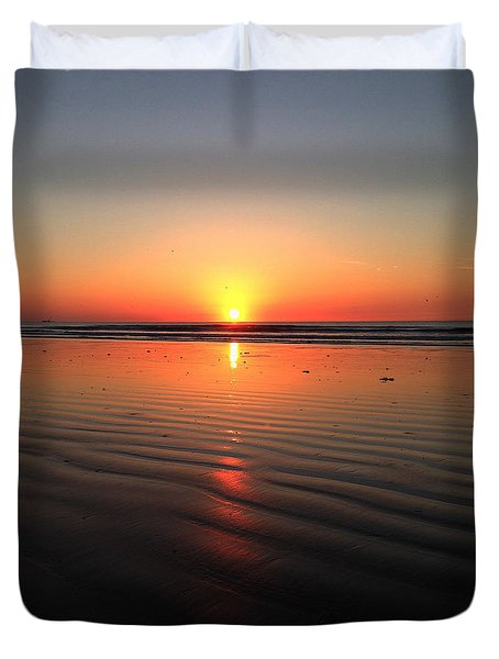Sun Dunes Duvet Cover