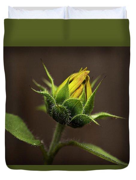 Sun Flower Blossom Duvet Cover