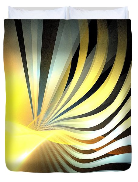 Sun Fronds Duvet Cover