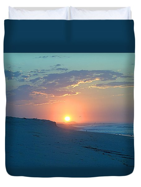 Duvet Cover featuring the photograph Sun Glare by  Newwwman