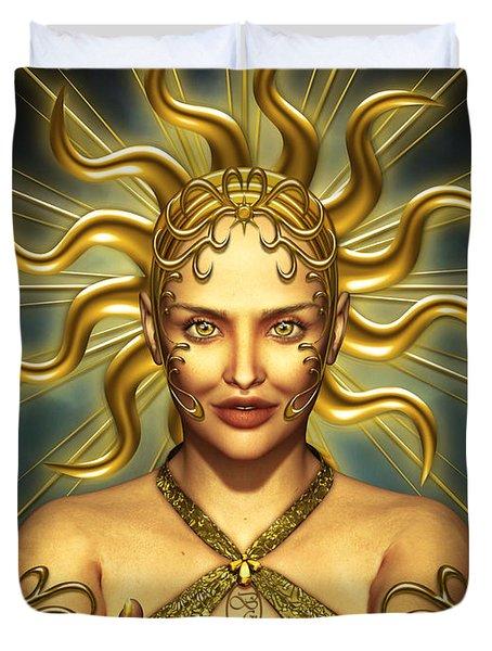 Sun Goddess Duvet Cover