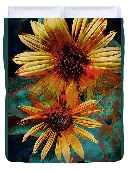 Sun Godess Duvet Cover