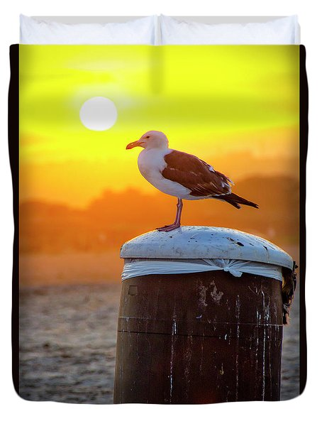 Sun Gull Duvet Cover