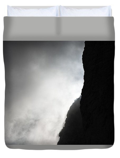 Sun In The Clouds Duvet Cover by Marco Missiaja