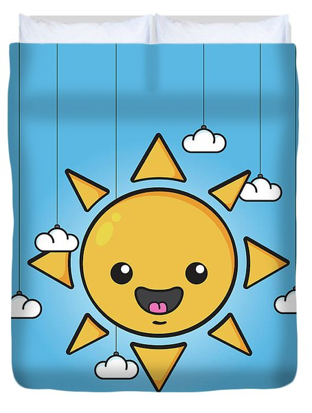 Sun Is Shining In The Sky Duvet Cover