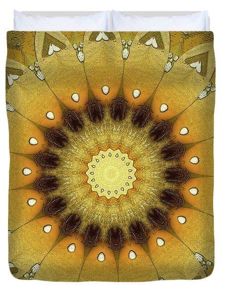Sun Kaleidoscope Duvet Cover
