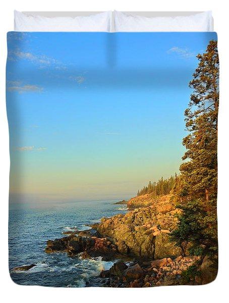 Sun-kissed Coast Duvet Cover