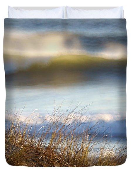 Sun Kissed Waves Duvet Cover
