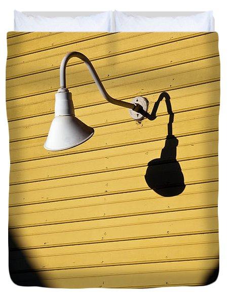 Sun Lamp Duvet Cover
