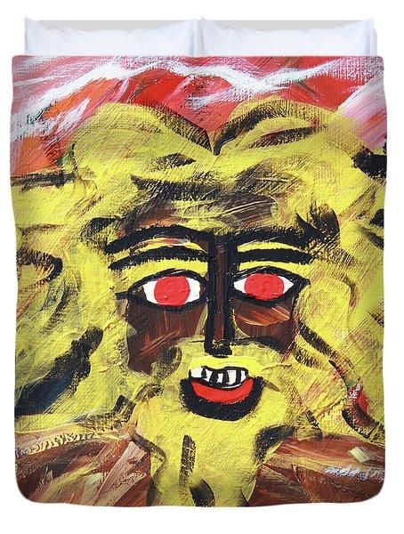 Sun Of Man Duvet Cover