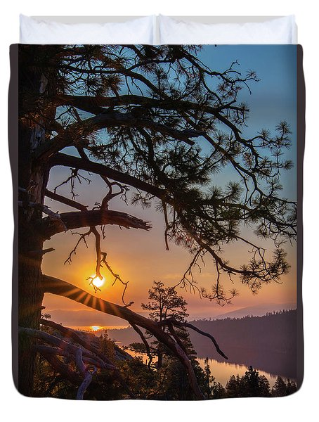 Sun Ornament Duvet Cover