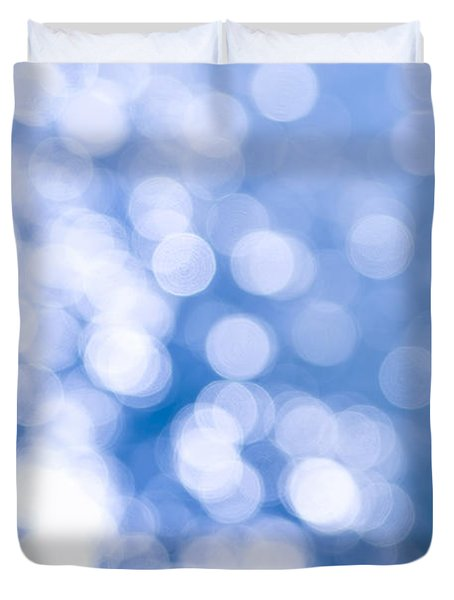 Sun Reflections On Water Duvet Cover by Elena Elisseeva