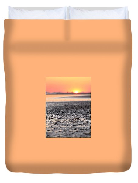 Sun, Sand, Sea Duvet Cover