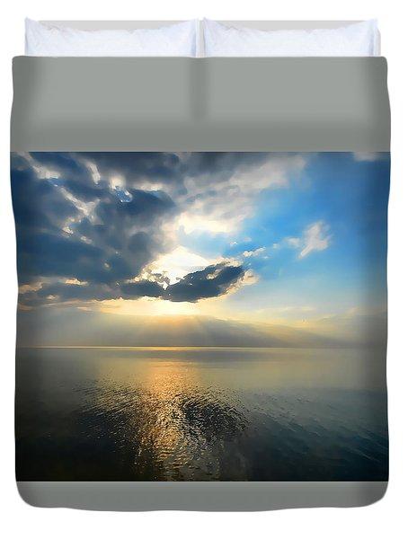 Sun Set #1 Duvet Cover