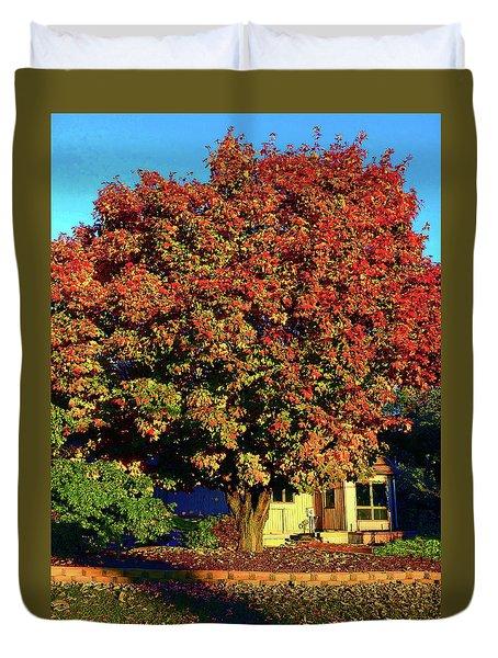Sun-shining Autumn Duvet Cover