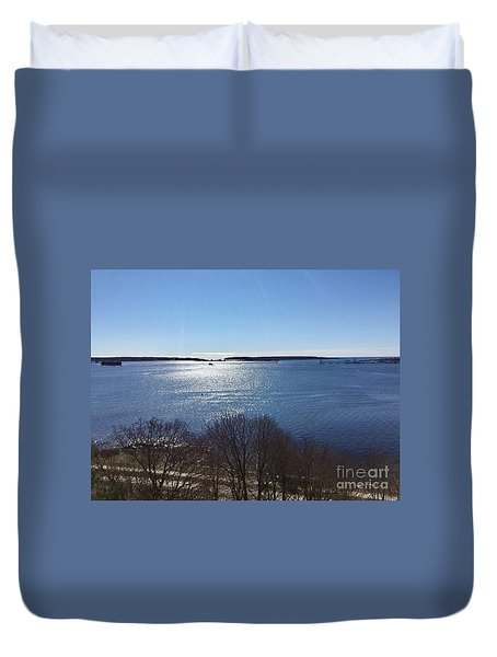 Sun Shiny Casco Bay Duvet Cover