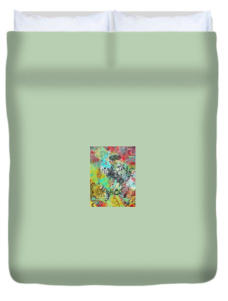 Sun Shower Duvet Cover