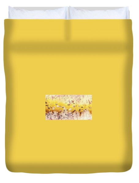 Sun Shower Duvet Cover by William Wyckoff