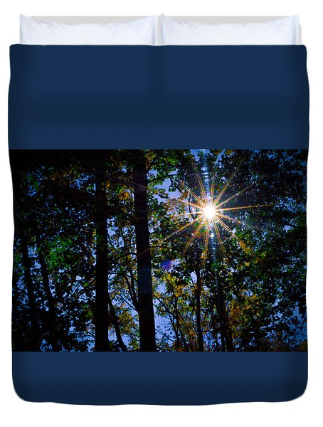 Sun Star Duvet Cover