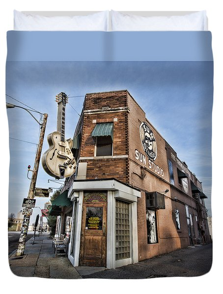 Sun Studio - Memphis #1 Duvet Cover