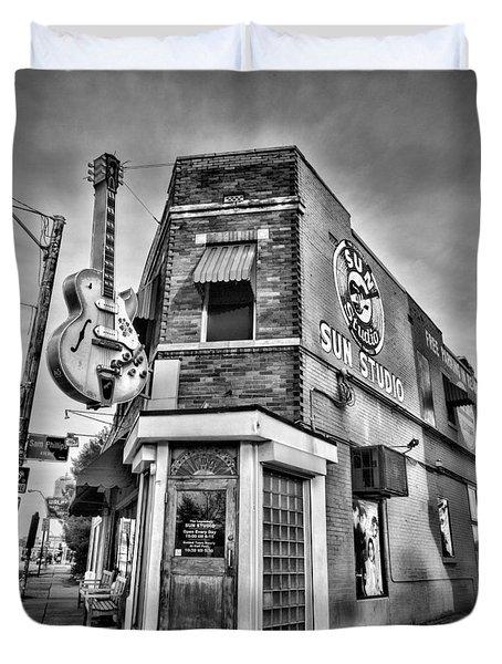 Sun Studio - Memphis #2 Duvet Cover