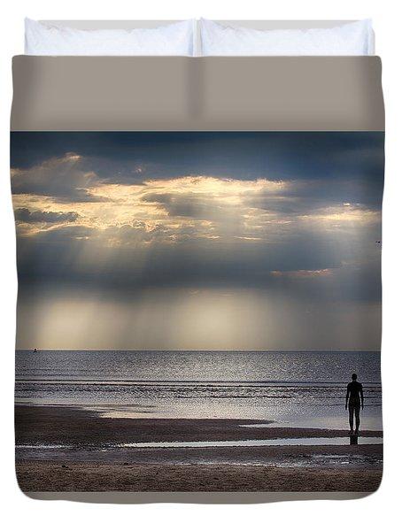 Sun Through The Clouds 2 5x7 Duvet Cover