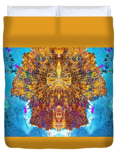 Sun To The Hathors Duvet Cover