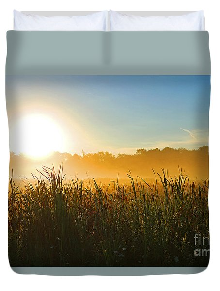 Sun Up Duvet Cover