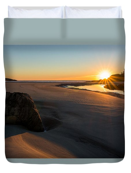 Sun Up Good Harbor Duvet Cover