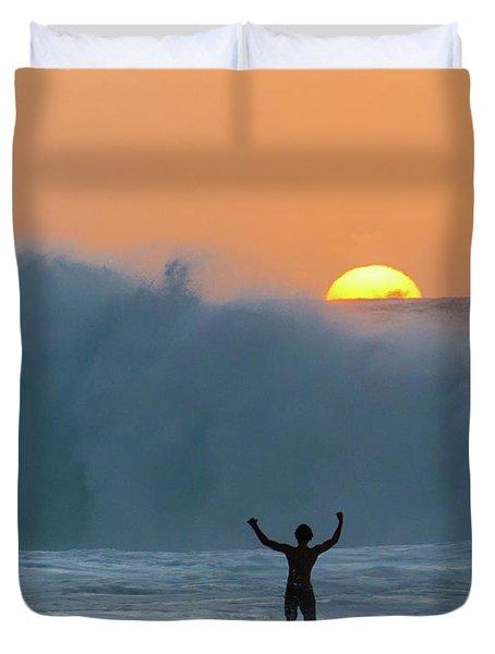 Sun Worship Duvet Cover