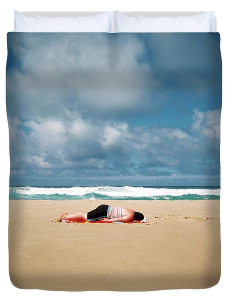 Sunbather Duvet Cover