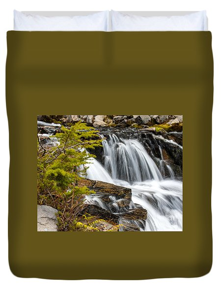 Sunbeam Creek I Duvet Cover