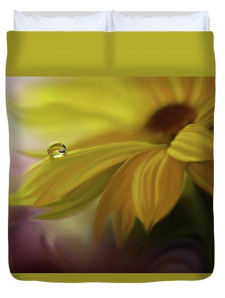 Sunbeam... Duvet Cover by Juliana Nan
