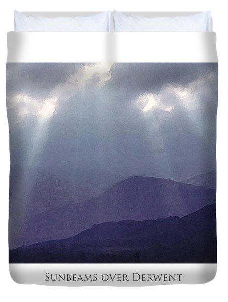 Sunbeams Over Derwent Duvet Cover