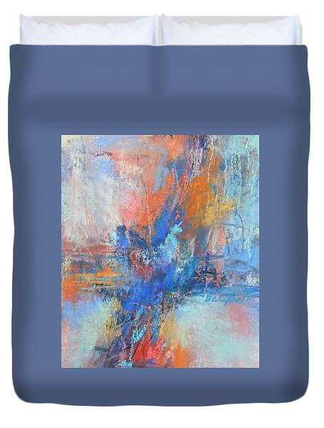 Sunburn Duvet Cover by Becky Chappell