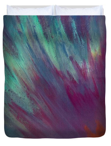 Sunburst Aura Duvet Cover
