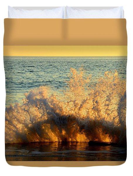 Sunburst Duvet Cover by Dianne Cowen