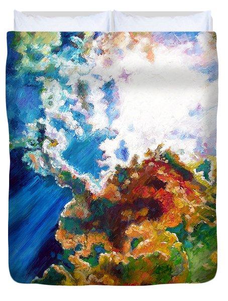 Sunburst Duvet Cover by John Lautermilch