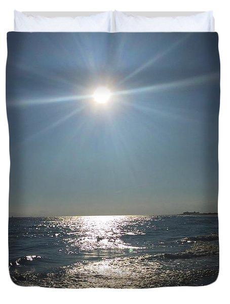 Sunburst Reflection Duvet Cover