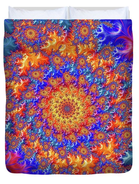 Sunburst Supernova Duvet Cover