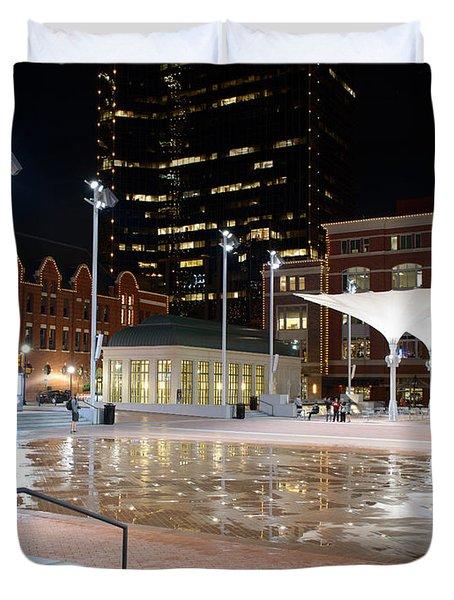 Sundance Square Fort Worth 3 Duvet Cover
