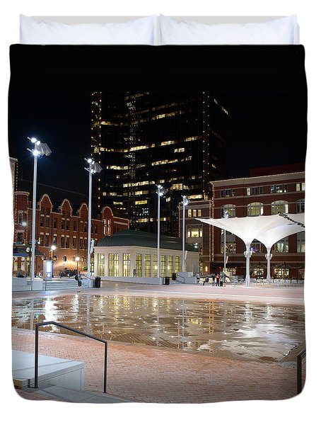 Sundance Square Fort Worth 3 Duvet Cover
