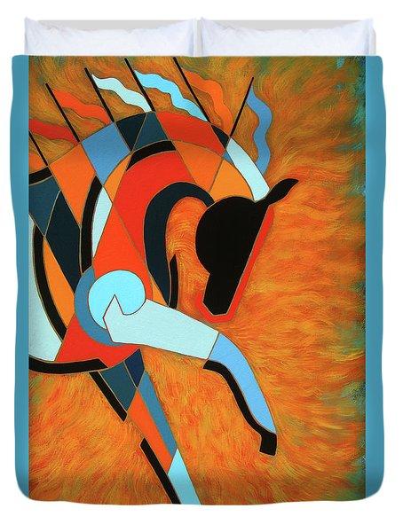 Sundancer Of The Fire I Duvet Cover