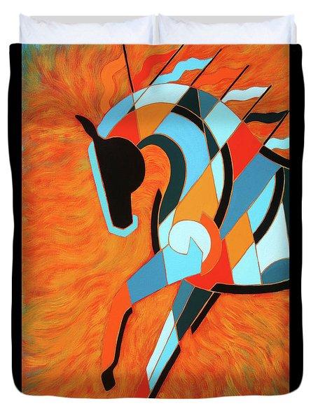 Sundancer Of The Fire II Duvet Cover