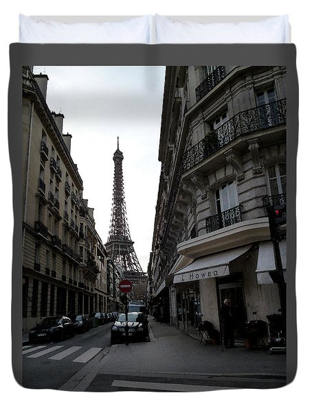 Sunday Afternoon In Paris Duvet Cover