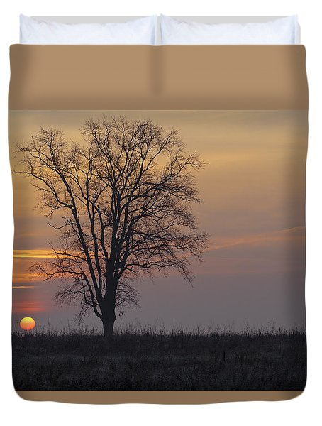 Sunday At Dawn Duvet Cover