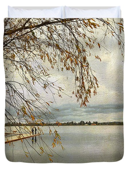 Sunday By The Lake II Duvet Cover
