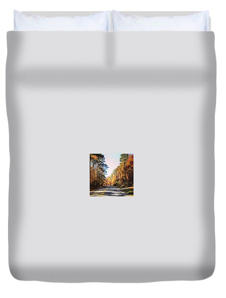 Duvet Cover featuring the photograph Sunday Drive by Aaron Martens