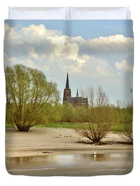Sunday On The Rhine Duvet Cover