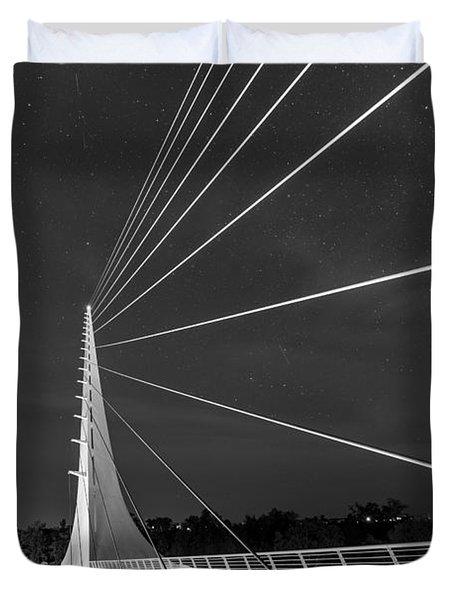 Sundial Bridge 2 Duvet Cover